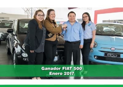 Ganador Fiat 500